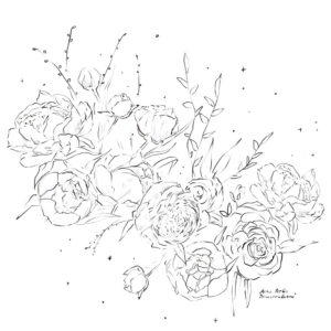Flowers Always Coloring Book Alex Perlin